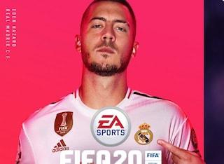 Eden Hazard batte Messi, Ronaldo e la Rapinoe: lui sulla copertina di FIFA 20