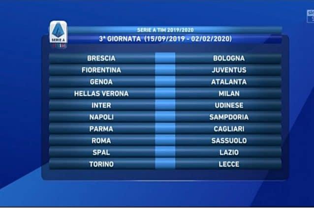 Quando Esce Il Calendario Di Serie A.Il Calendario Completo Della Serie A 2019 2020 Calcio Fanpage