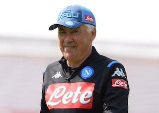 """Napoli, Ancelotti: """"Saremo pronti per il campionato. Idee, testa, gioco. Ci siamo"""""""