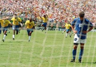 Italia-Brasile Usa 94: quando Baggio fallì il rigore decisivo, dopo averci portato in finale
