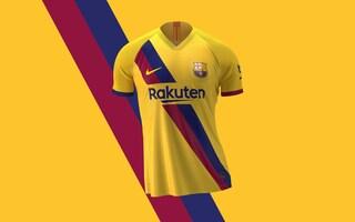 Barcellona, la seconda maglia 2019/2020 sarà gialla in onore dei 40 anni de La Masia