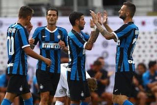 Inter, buona la prima di Conte: 2-1 al Lugano. In gol Sensi e Brozovic