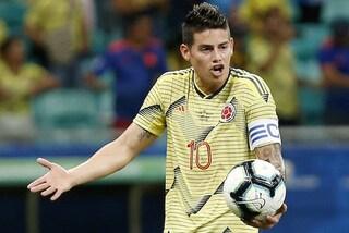 James Rodriguez-Napoli, la situazione e le cifre nelle ultimissime notizie di calciomercato