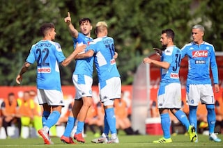 Napoli, 5-0 alla Feralpisalò in amichevole: primo gol azzurro per Manolas