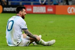 """Argentina, il discorso di Messi dopo il ko col Brasile: """"Siete il futuro della nazionale"""""""