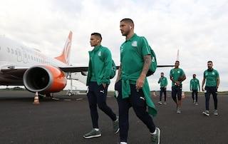 Palmeiras, l'aereo rischia di cadere durante l'atterraggio a Mendoza