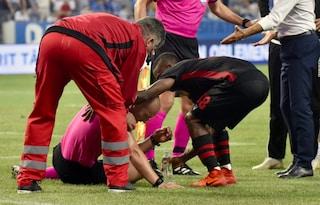 Europa League, shock a Craiova: bomba carta stordisce l'arbitro