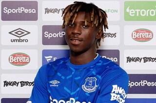 Calciomercato, ufficiale: Moise Kean è un nuovo calciatore dell'Everton