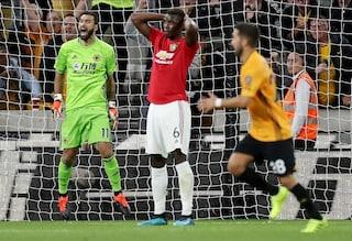 Pogba sbaglia dal dischetto e il Manchester United non va oltre il pari in casa dei Wolves