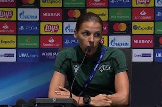 """Chi è Stephanie Frappart, arbitro della finale di Supercoppa: """"Non ho paura di sbagliare"""""""