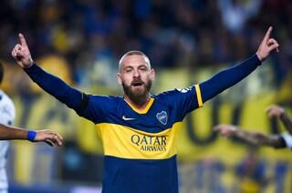 Daje Danie', De Rossi fa gol all'esordio con il Boca Juniors
