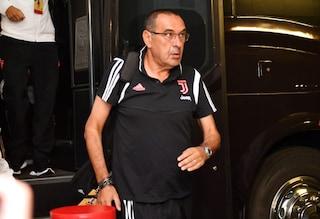 Juventus, spavento per Sarri: piccolo malessere prima del test di Villar Perosa