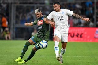 Napoli: ottimo test a Marsiglia tra gol (di Mertens) e schiaffi (a Insigne)
