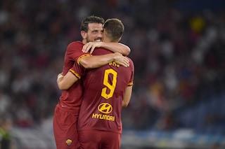 "Roma, Edin Dzeko rivela: ""Florenzi mi ha detto: 'Se firmi ti do la fascia da capitano'"""