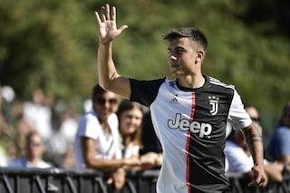 Juventus, Villar Perosa ai piedi di Dybala: l'argentino strappa applausi e ne segna due