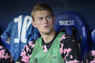 "Juventus, Matthijs de Ligt già si lamenta: ""Non mi aspettavo la panchina"""