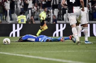 Dal tatuaggio dello 0-1 alla beffa del 4-3 in Juve-Napoli, il web non perdona Koulibaly