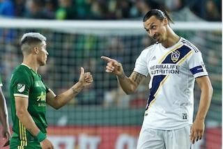 Zlatan Ibrahimovic squalificato per una doppia simulazione in MLS