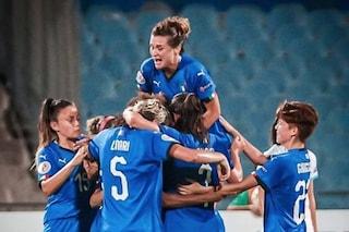 Qualificazioni Europei, Nazionale femminile: buona la prima, Israele battuto 3-2