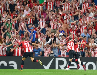 Liga, il Barcellona inizia perdendo con l'Athletic Bilbao (1-0): prodezza di Aduriz