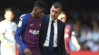 Barcellona, infortunio per Dembelé: stop di cinque settimane. Si torna sul mercato?