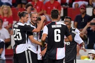 Triestina-Juventus 0-1, gol fenomenale di Paulo Dybala