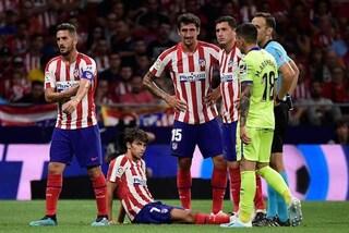 Atletico Madrid, Joao Felix prima incanta con un'azione eccezionale e poi s'infortuna