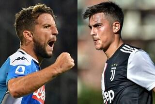 Juventus-Napoli, dati a confronto: le ultimissime sul big match dello Stadium