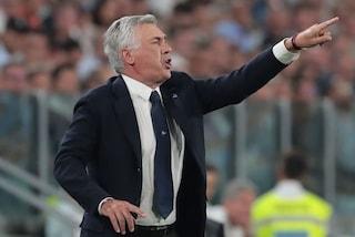 """Juve-Napoli, Ancelotti: """"Prestazione insufficiente anche se fosse finita pari"""""""