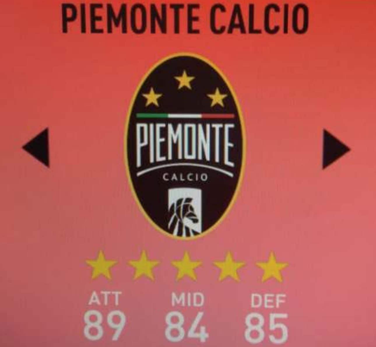 Il logo del Piemonte Calcio.