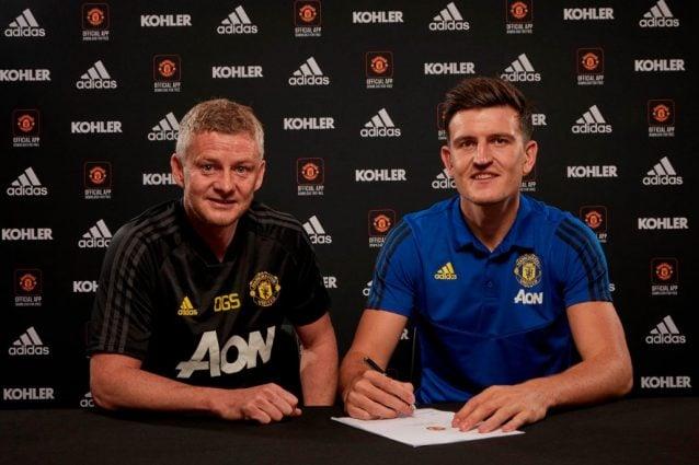 Harry Maguire ha firmato il contratto con lo United (fonte, sito ufficiale del Manchester)