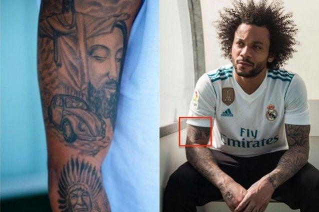 Real Madrid Marcelo E Il Commovente Tatuaggio Del