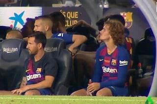 Alta tensione a Barcellona: Messi ignora Griezmann durante il Trofeo Gamper