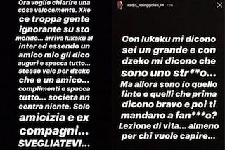 """Nainggolan sbotta sui social: """"Gli auguri a Dzeko? E' un amico non ho offeso l'Inter"""""""