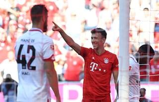 Bundesliga, Perisic-show e il Bayern dilaga in goleada contro il Mainz