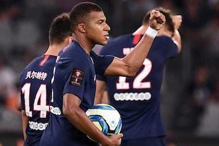 Il Psg vince la Supercoppa di Francia, Mbappé e Di Maria stendono in rimonta il Rennes
