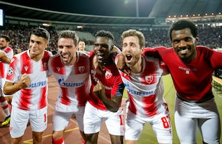 Champions League: volano ai gironi Stella Rossa, Olympiakos e Dinamo Zagabria