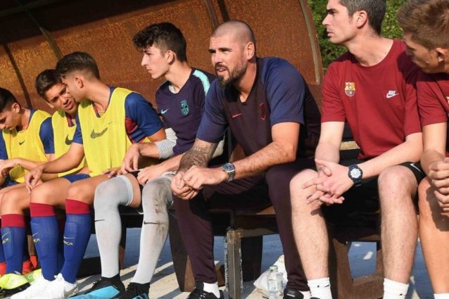 Victor Valdes ritira il Barcellona Under 19 da un torneo internazionale in Olanda