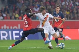 La Roma sbanca Lille al 91' con Cristante: finisce 3-2. Dzeko sugli scudi