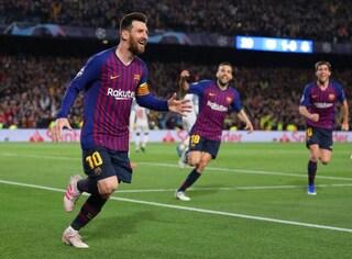 Classifica marcatori dei gironi di Champions, ecco i primi cinque: Messi e CR7 in testa