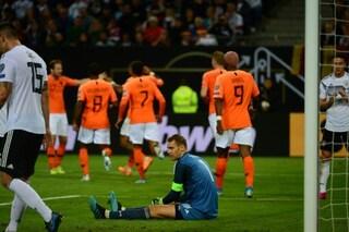 Qualificazioni Euro 2020: l'Olanda ribalta la Germania, Belgio e Croazia show