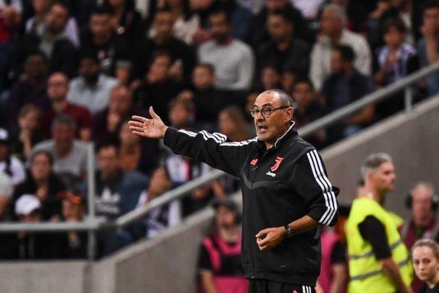Juve, Sarri migliora: potrebbe essere in panchina al Franchi