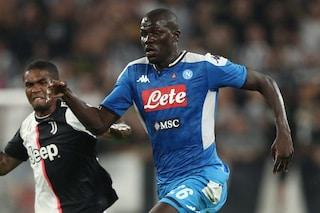 "Napoli, Koulibaly: ""De Laurentiis ha rifiutato 100 milioni per me? Ha fatto male"""
