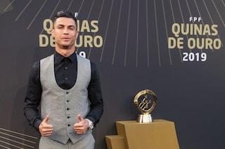 """Cristiano Ronaldo e il messaggio ai bambini: """"È un mondo selvaggio, attenti ai social"""""""