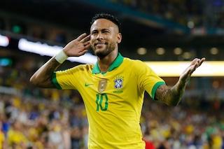 Brasile-Colombia 2-2, highlights: show di Muriel, Neymar torna al gol
