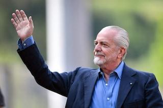 """Napoli, De Laurentiis: """"Icardi? Non è stupido, al PSG ha più possibilità di primeggiare"""""""