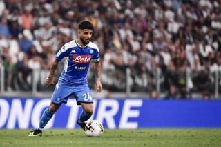 Retroscena Insigne, ha giocato infortunato in Juventus-Napoli