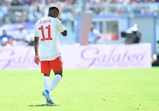 Juventus, l'infortunio di Douglas Costa: per il brasiliano lesione alla coscia destra