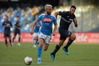 """Napoli, Mertens: """"Siamo una grande squadra. Il rinnovo? Vediamo, dipende"""""""