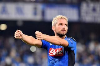"""L'esultanza di Mertens in Napoli-Liverpool: """"Lo stadio era azzurro come il mare del Golfo"""""""